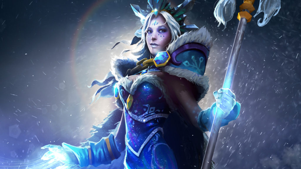 Màn hình tải Ascendant Crystal Maiden