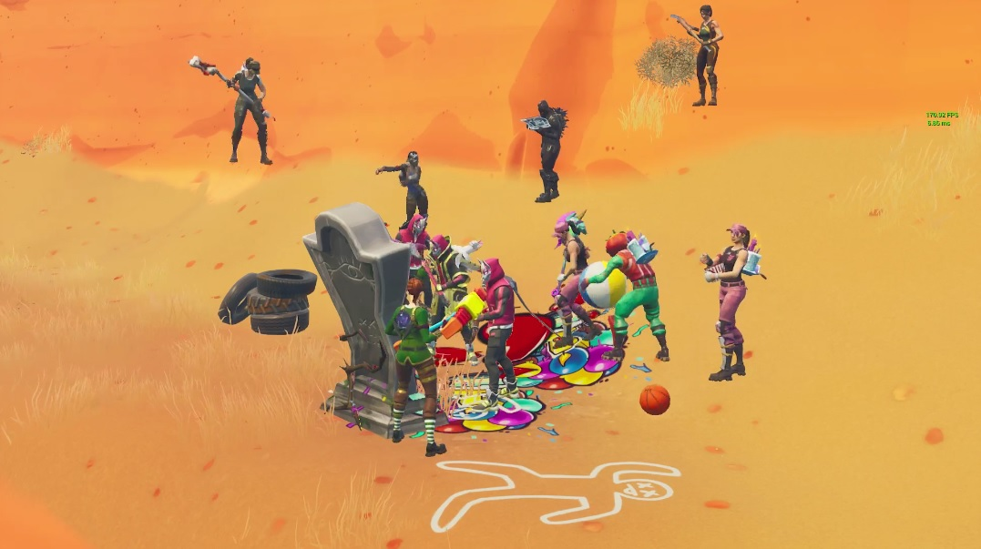 Chappadoodle's Fortnite funeral goes as badly as Chappadoodle rescue mission