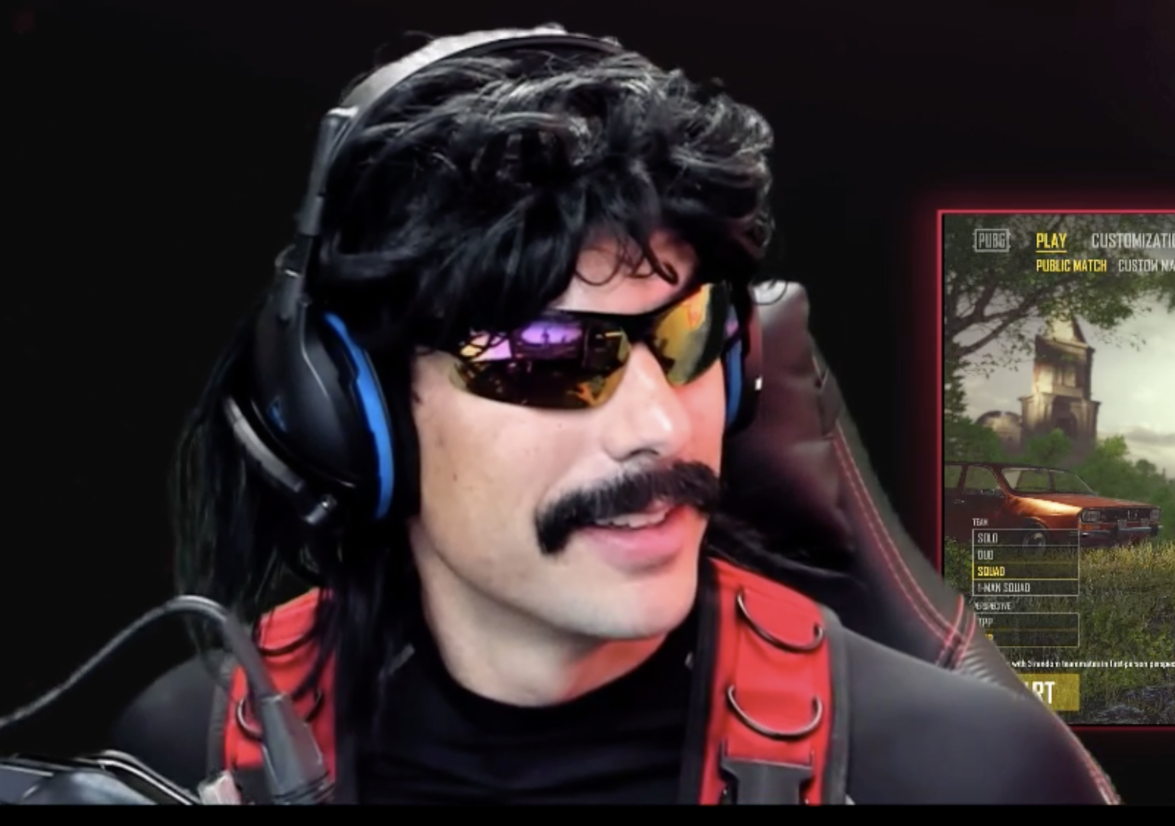 Dr Disrespect shows off benefits of aim assist with a no-look kill in Call of Duty: Warzone
