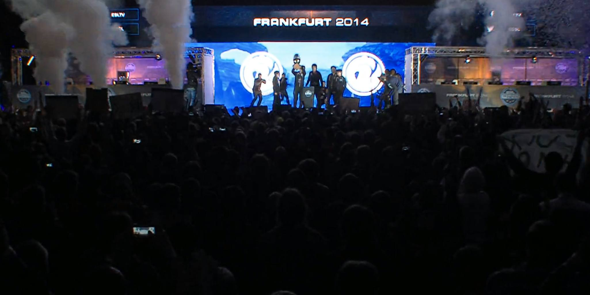 Thousands watch as Invictus Gaming take ESL crown in former World Cup stadium