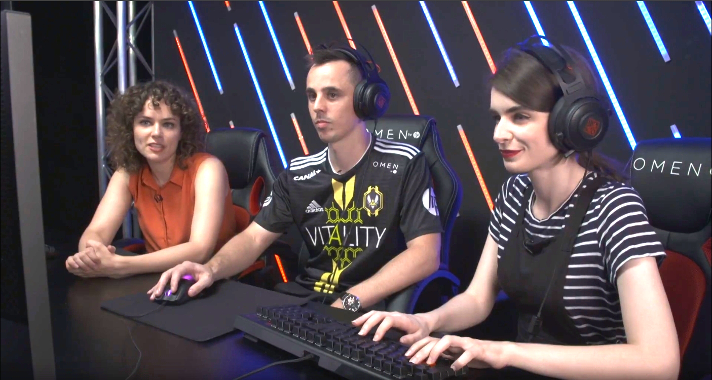 Team Vitality's Shadow1k talks roster changes, excitement for new teammates on the HP OMEN eSports Report