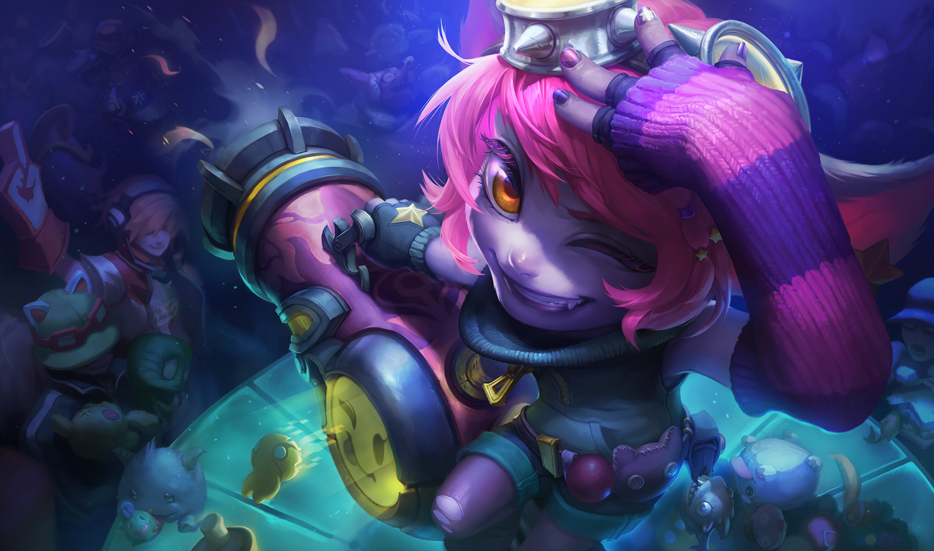 how to get tristana and alistar for free
