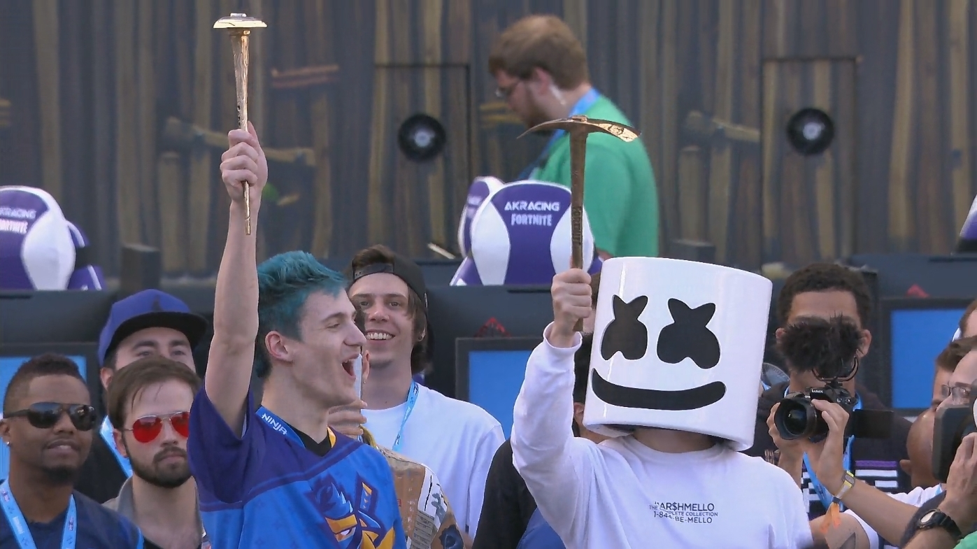 Who Won The E3 Fortnite Pro Am Ninja And Marshmello Win The E3 Fortnite Celebrity Pro Am Dot Esports