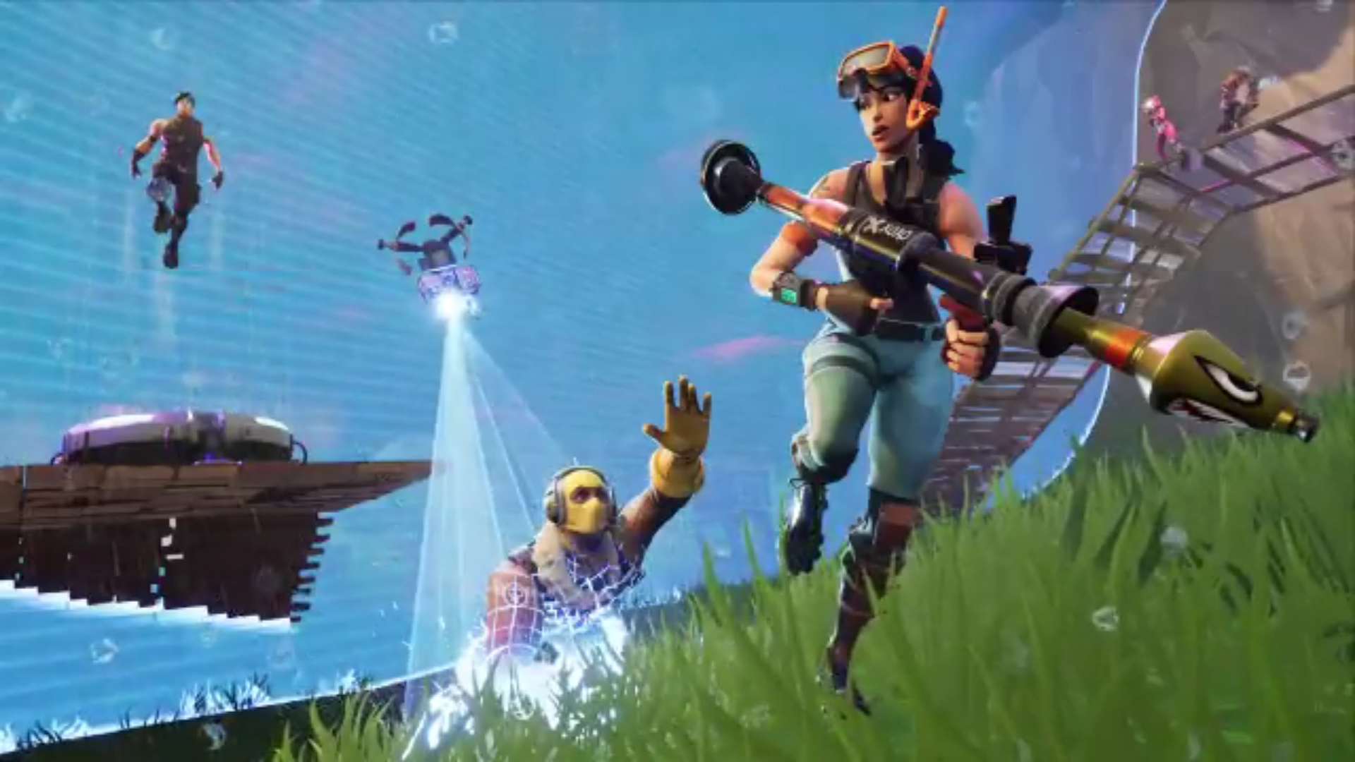 Fortnite's newest weapon is a light machine gun, and it's ...
