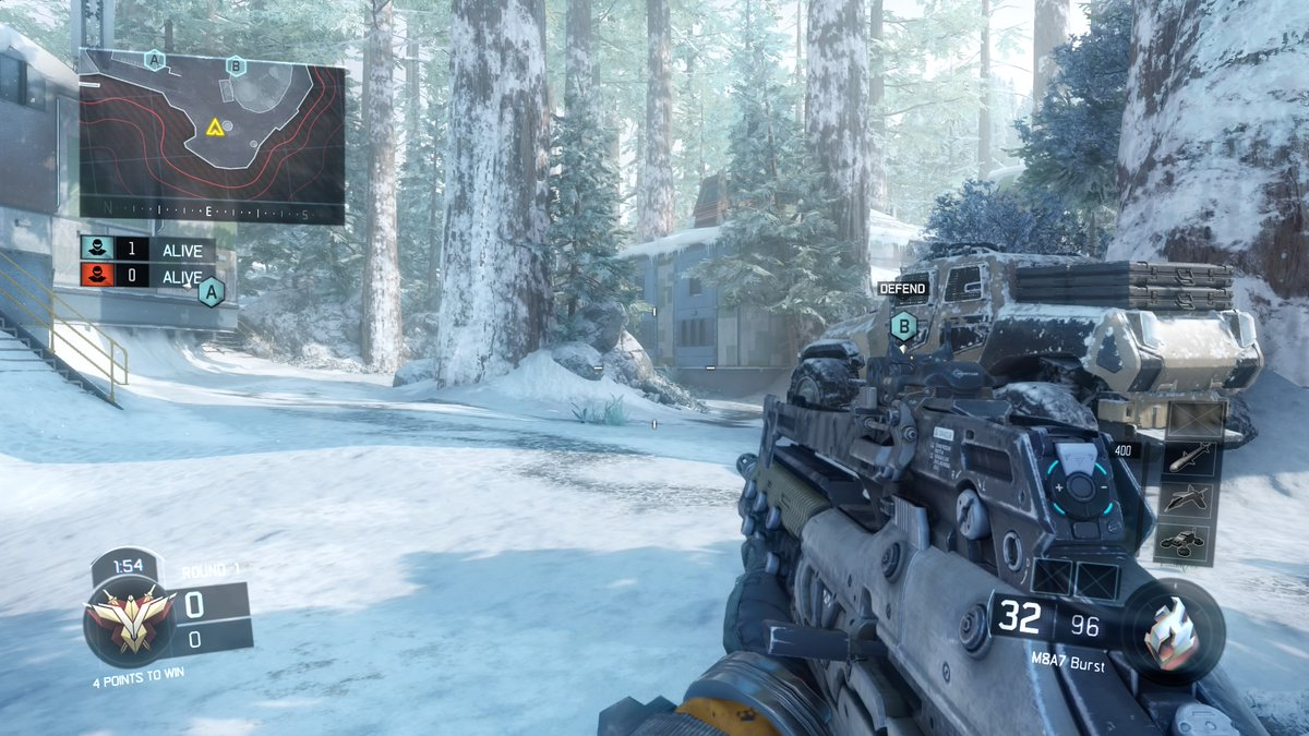 A New Update Adds Redwood Snow And Infected To Call Of Duty Black
