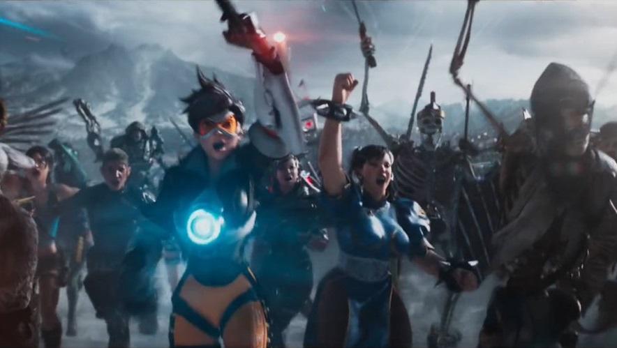 Overwatch, Street Fighter, Tomb Raider