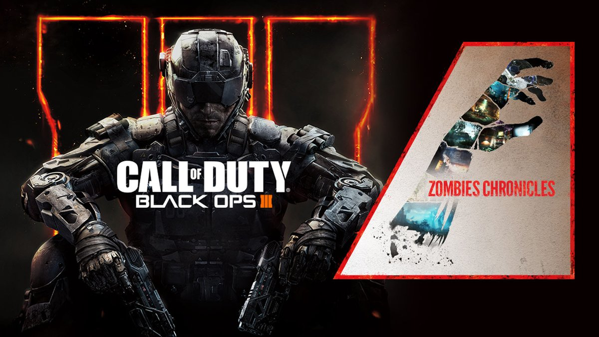 Call Of Duty Black Ops Iii Zombies Chronicles Bundle Packs Are