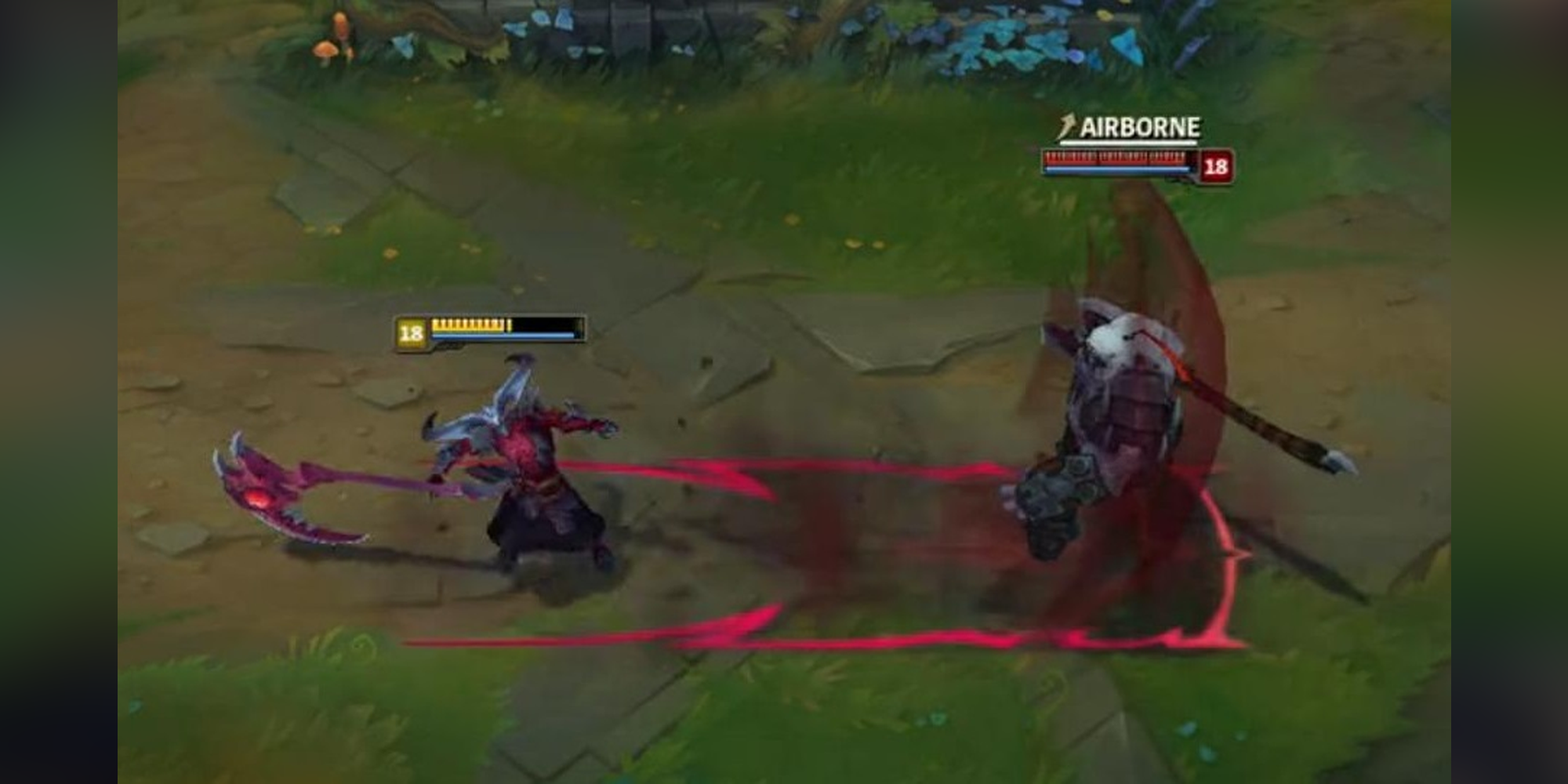 League Of Legends New Champion Is A Human Demon Hybrid Named Kayn And Rhaast