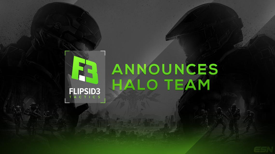FlipSid3 Tactics Announces Halo Team