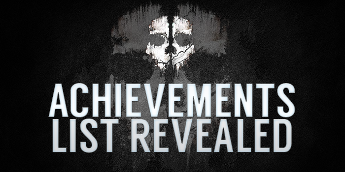 Call of Duty: Ghosts Achievements Listed | Dot Esports