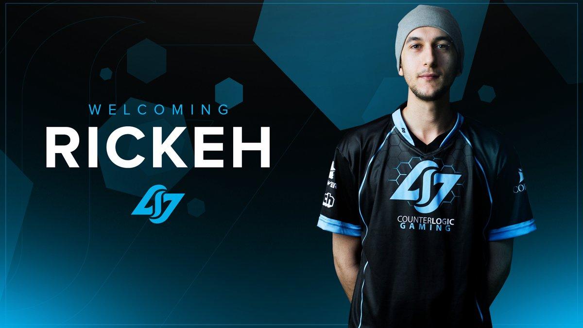Rickeh joins Counter Logic Gaming
