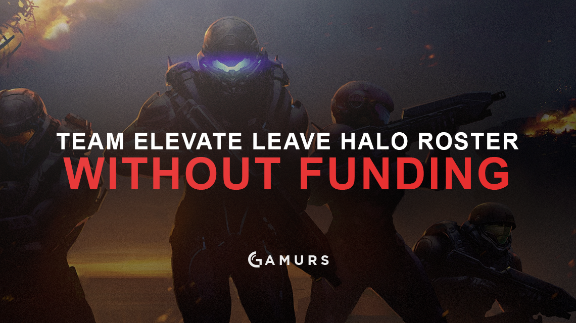 Team eLevate Leave Halo Team Without Funding