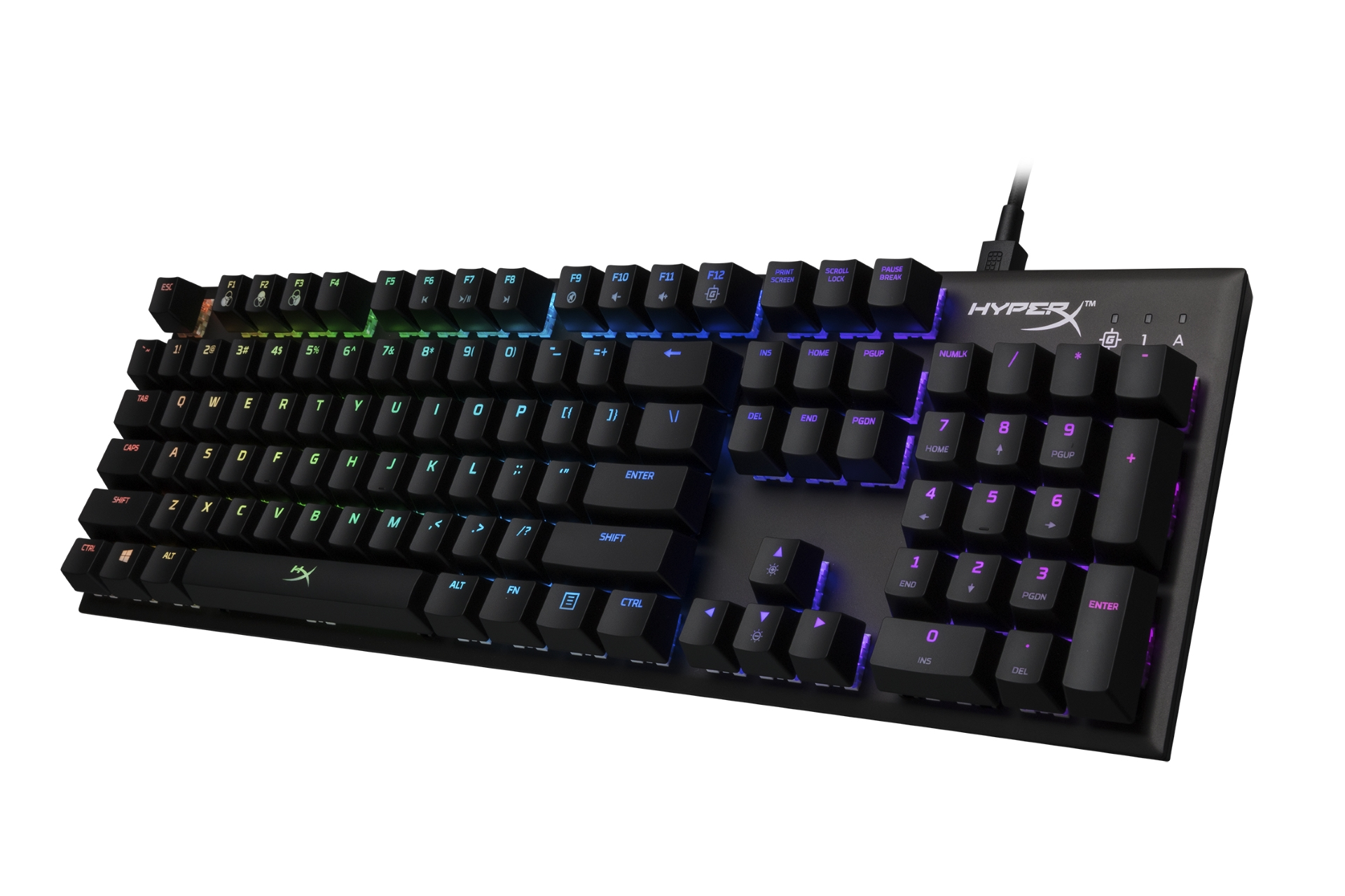 HyperX's latest mechanical keyboard is a sleek, compact, and responsive system perfect on-the-go esports athletes.
