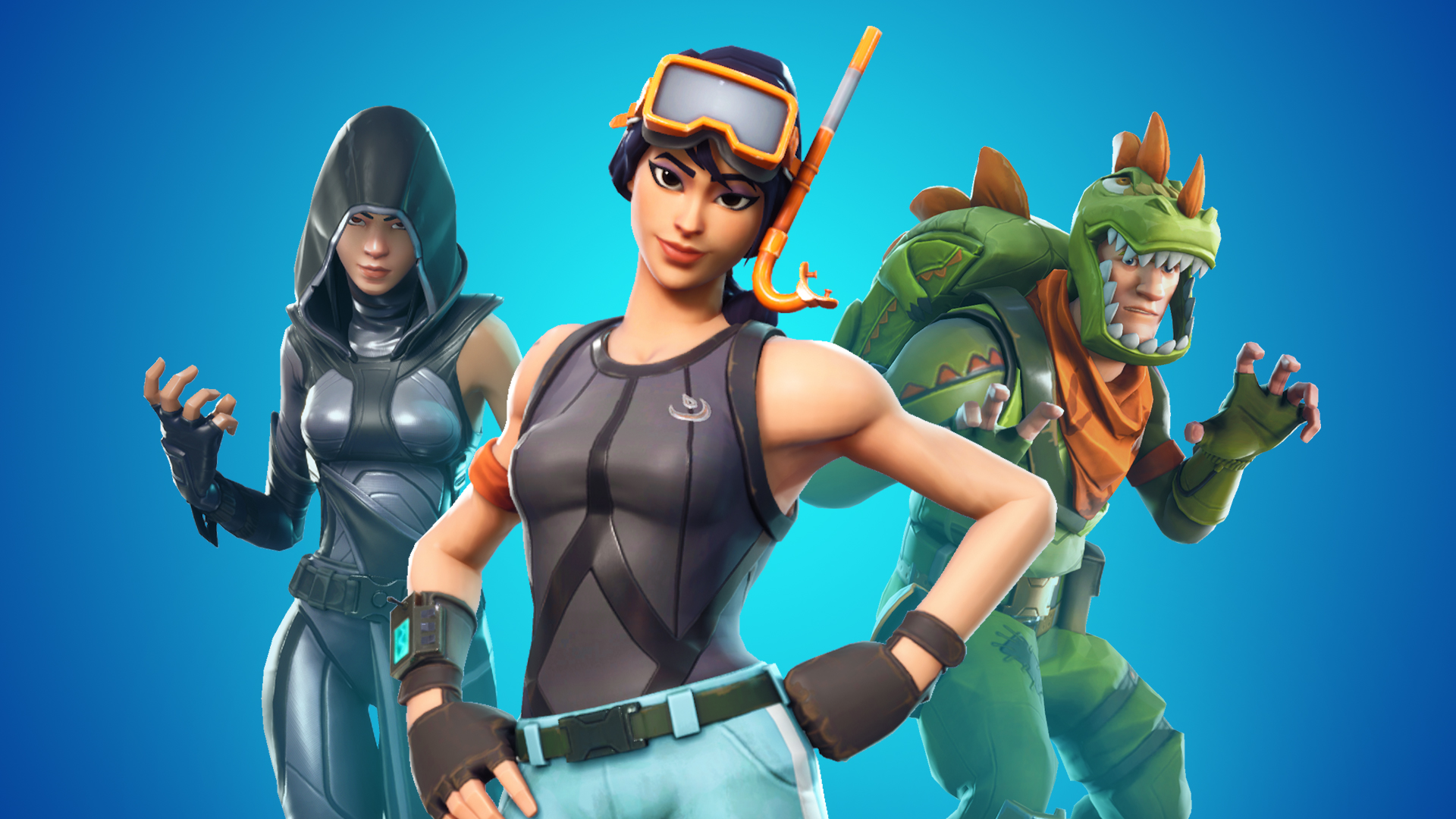 Fortnite's automatic server matchmaking system may not work for everyone. Try experimenting with your region.