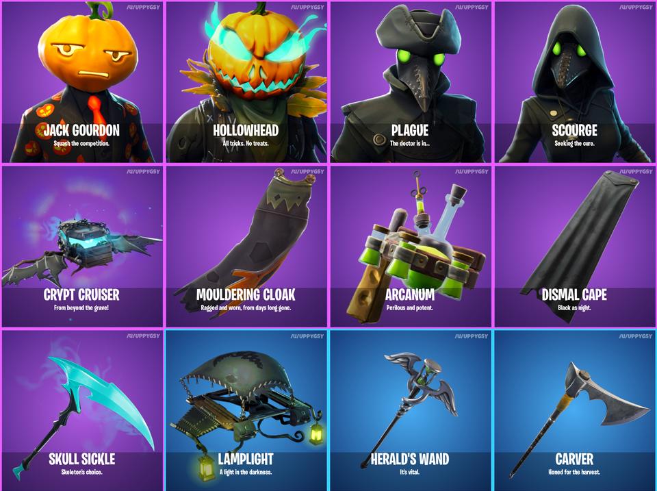 Fortnite Halloween 2020 Leak Reddit Leaks confirm new Halloween themed cosmetics in Fortnite | Dot Esports
