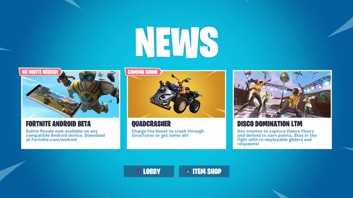 Fortnite Vehicles Battle Royale A New Vehicle Is Coming Soon To Fortnite Battle Royale And It S Called The Quadcrasher Dot Esports