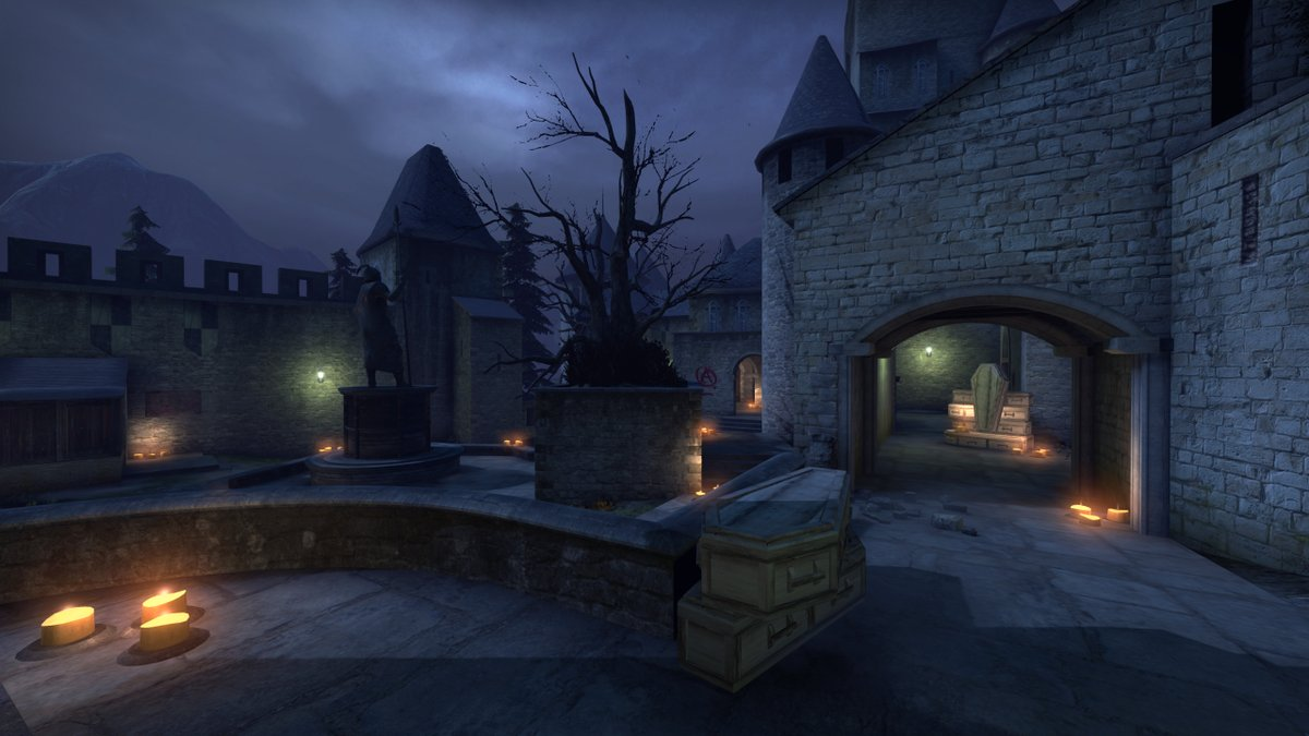 Cs Go Halloween Update 2020 Cobblestone receives map layout changes in CS:GO Halloween update