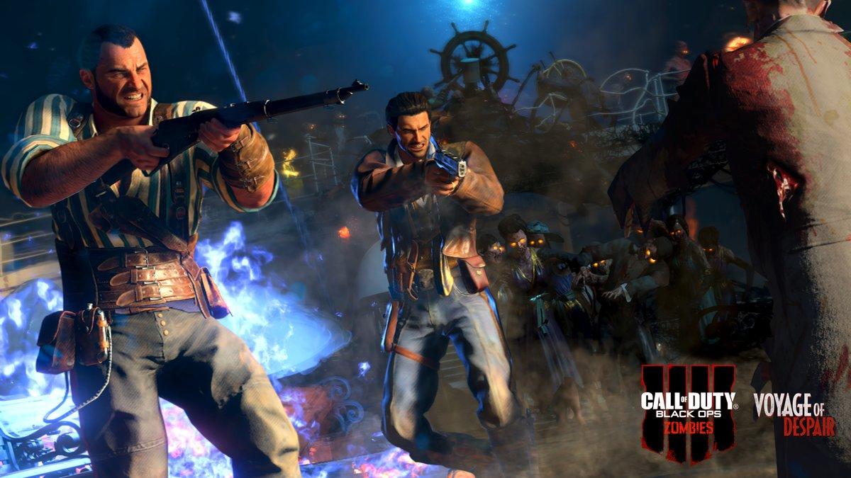 Cod Black Ops 4 Zombies Survival Guide Voyage Of Despair Dot