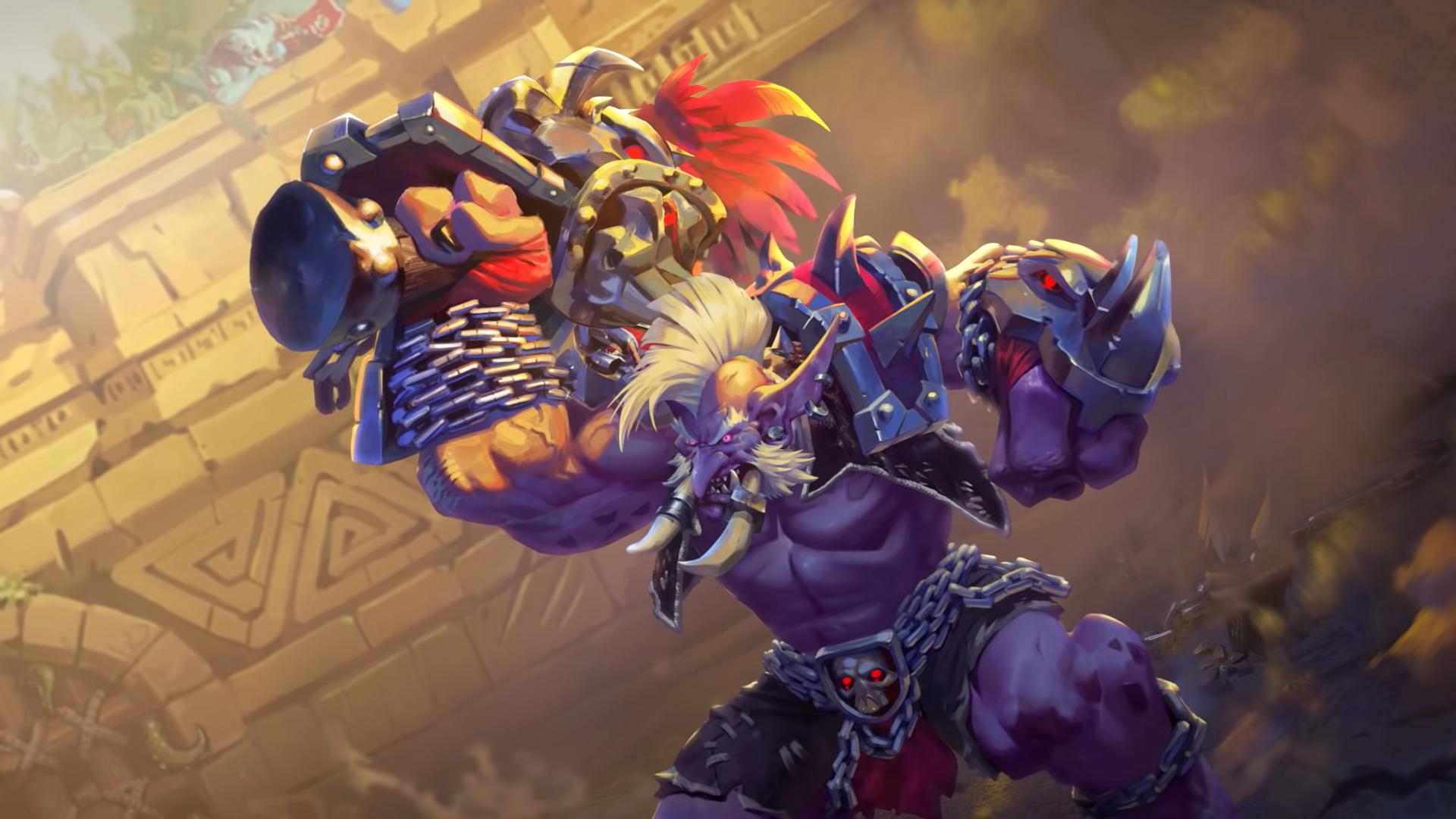 New Hearthstone Legendary card revealed: Gonk, the Raptor