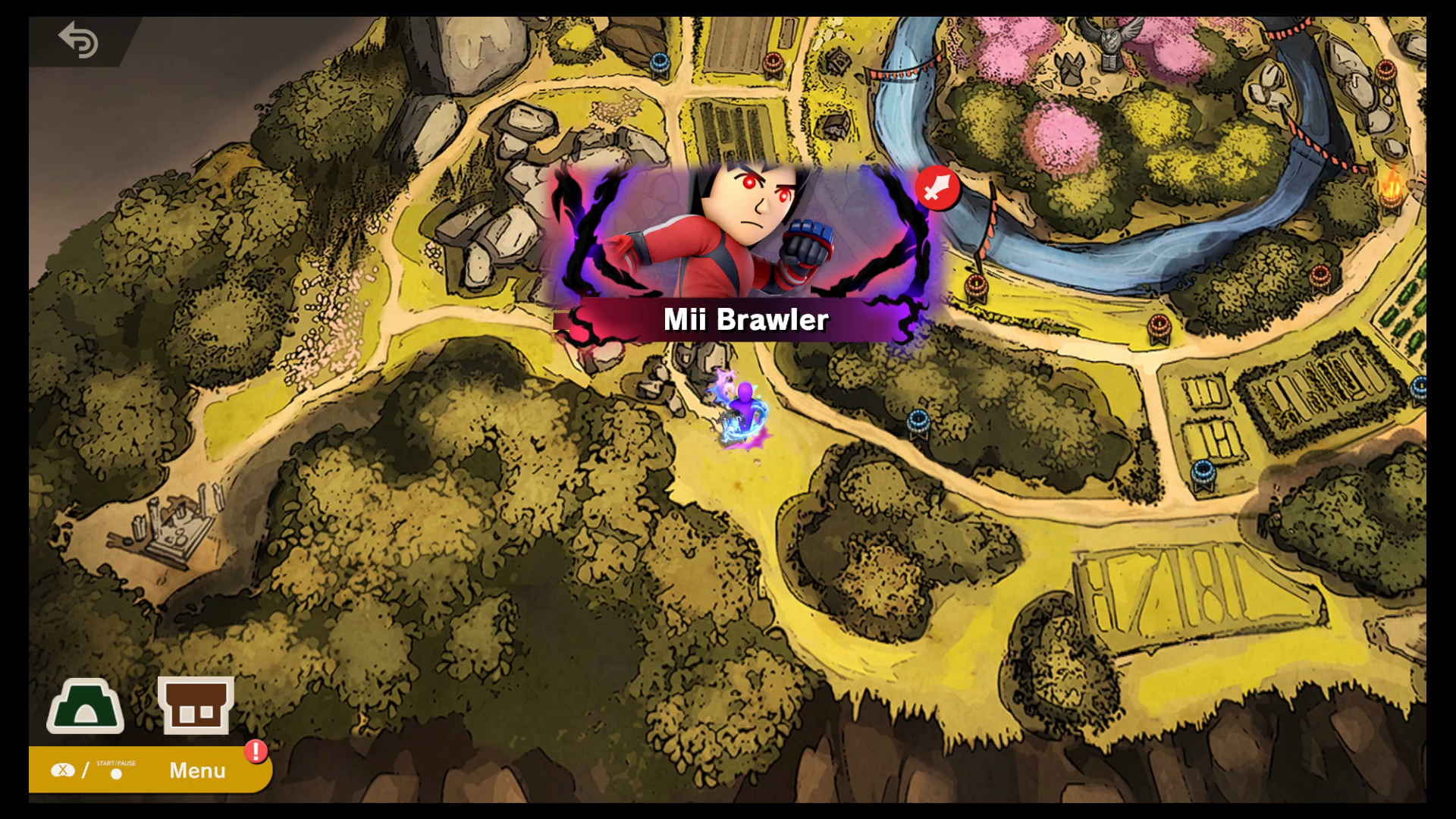How To Get The Mii Brawler Secret Character In The Sacred Land Of