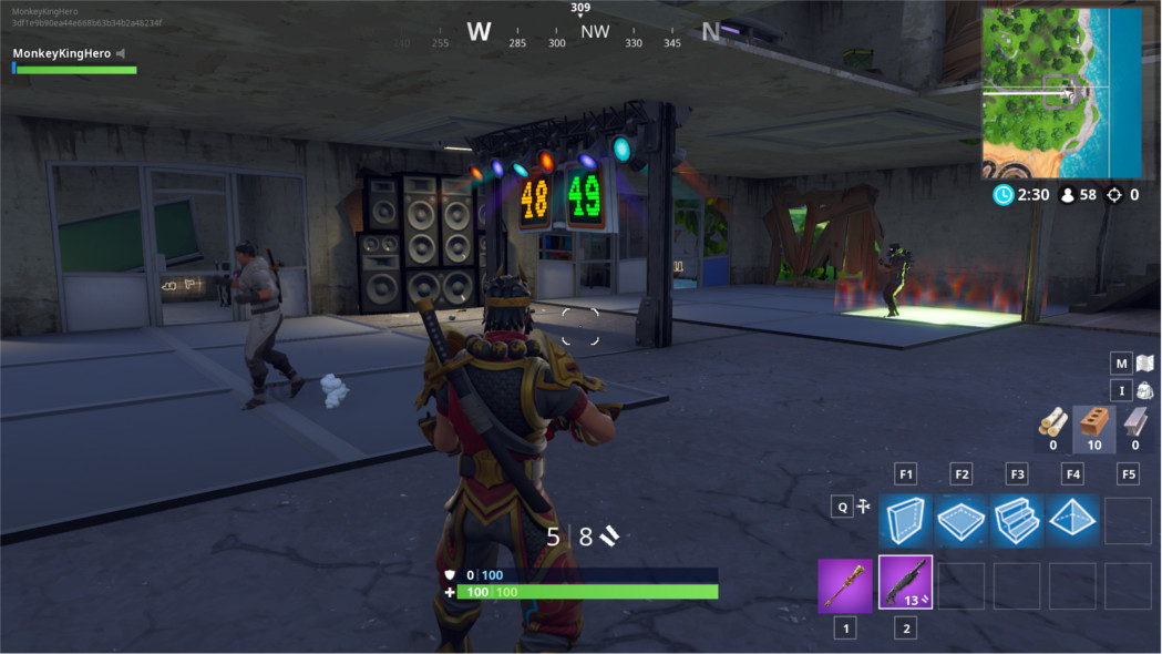 Win A Dance Battle Fortnite How To Complete The Compete In A Dance Off At An Abandoned Mansion Challenge In Fortnite Season 7 Dot Esports