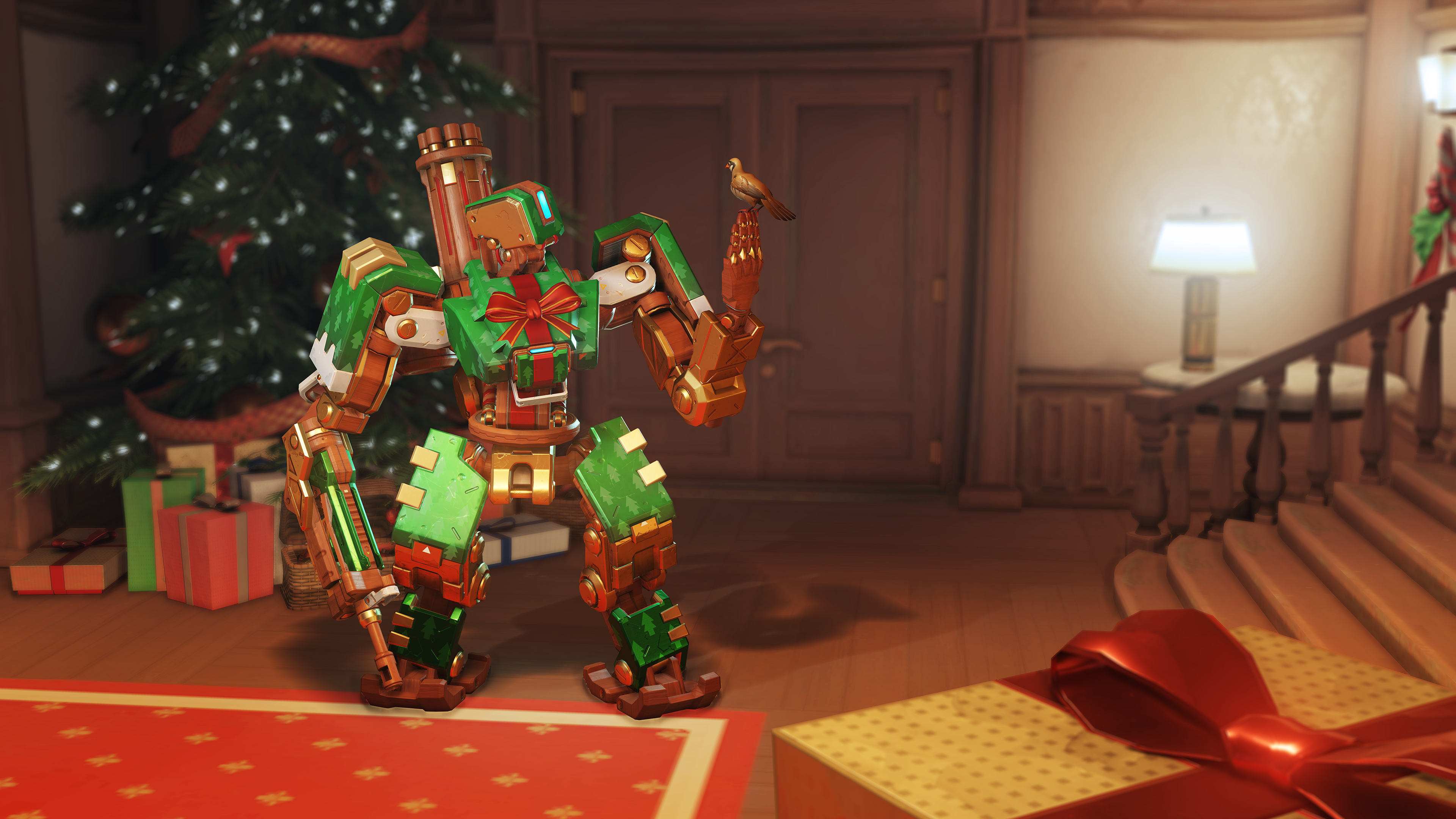 You can get 5 free holiday loot boxes in Overwatch today