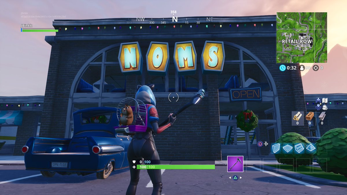Where Are The Fortnite Letters Pc Where To Search For The Noms Letters To Complete The Fortnite Season 7 Week 4 Challenge Dot Esports