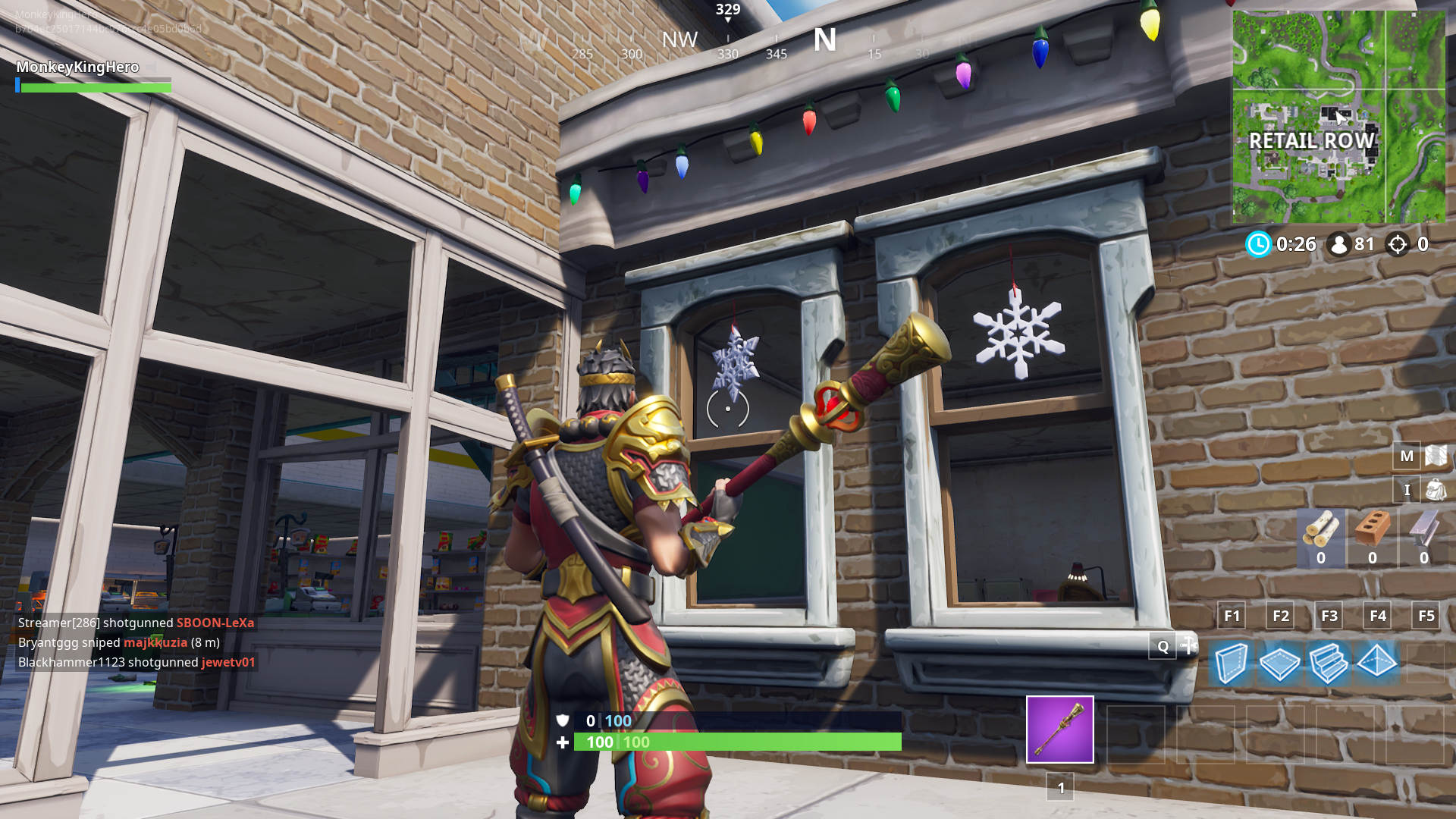 Where Are All The Snowflakes In Fortnite Chapter 2 How To Complete The Destroy Snowflake Decorations 14 Days Of Fortnite Challenge Dot Esports