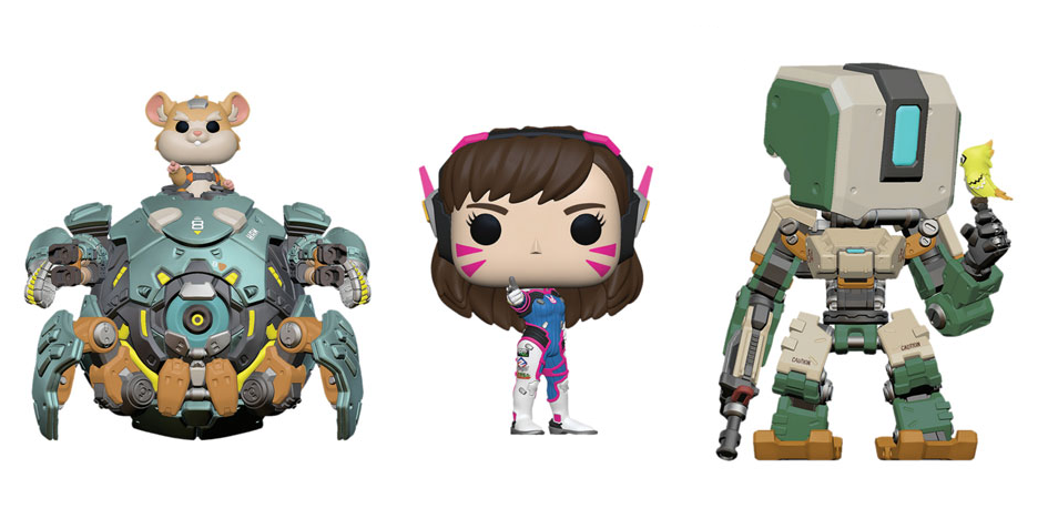 7 new Funko Pop! Overwatch figures revealed at the London Toy Fair