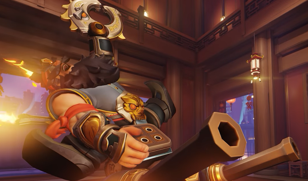 Torbjörn's new Lunar New Year skin is inspired by Zhang Fei