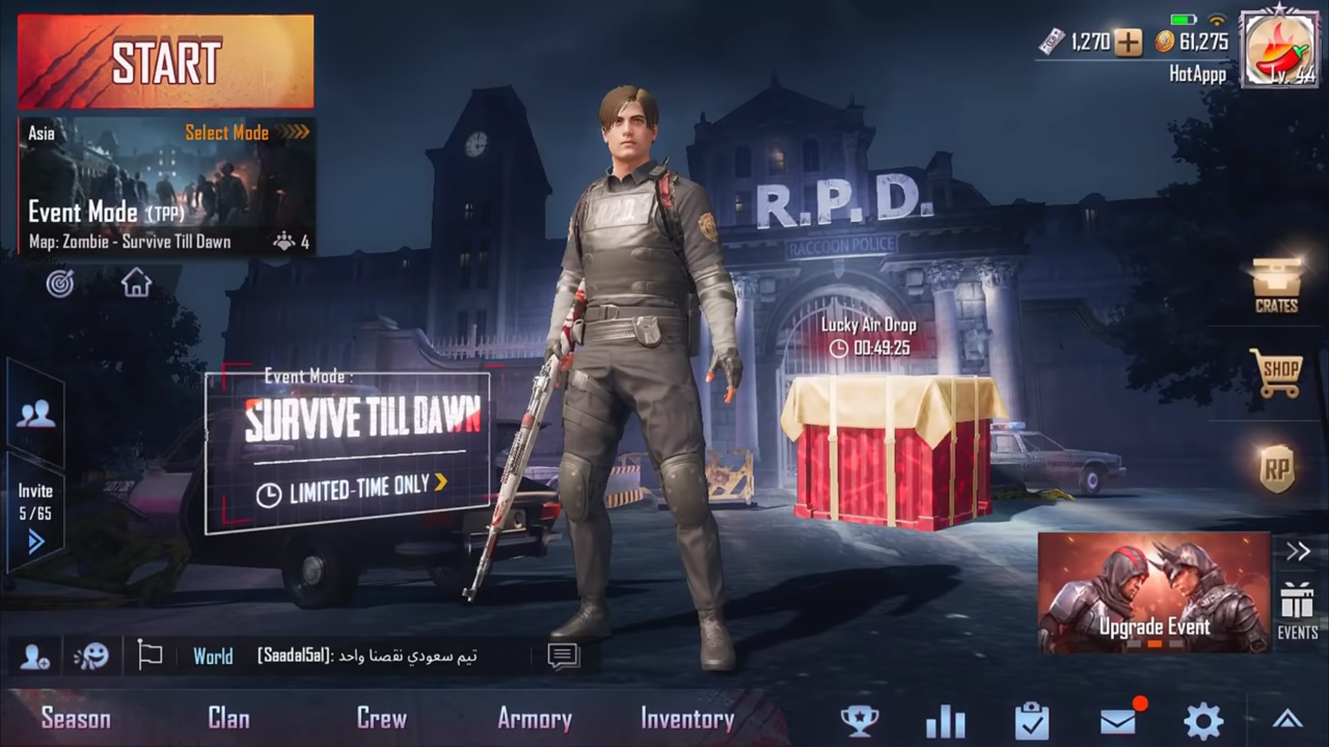 Pubg Mobile Update 0 11 0 Is Live With Resident Evil 2 Crossover