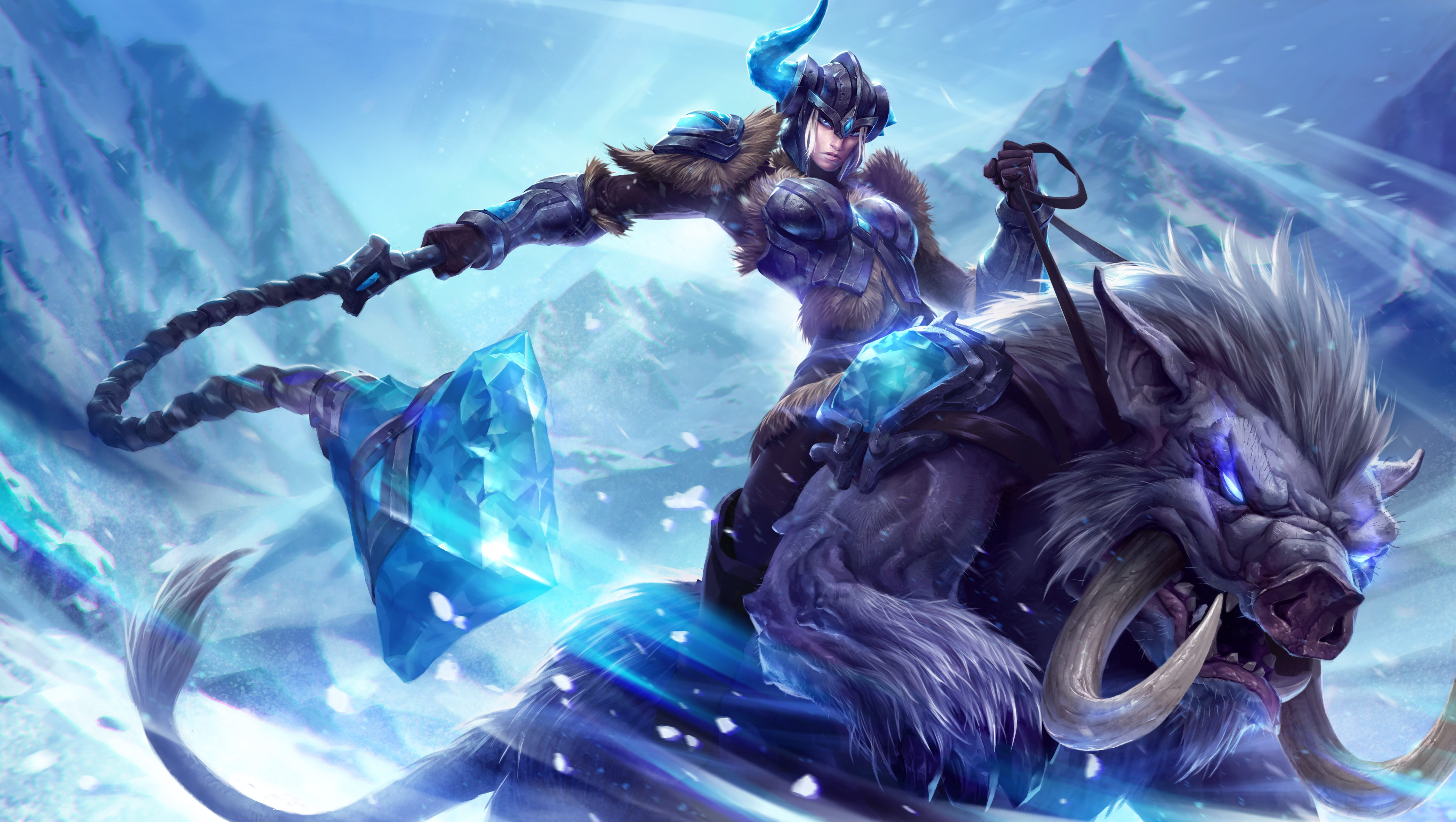 League of Legends concept art leaks potentially point to new Freljordian champion