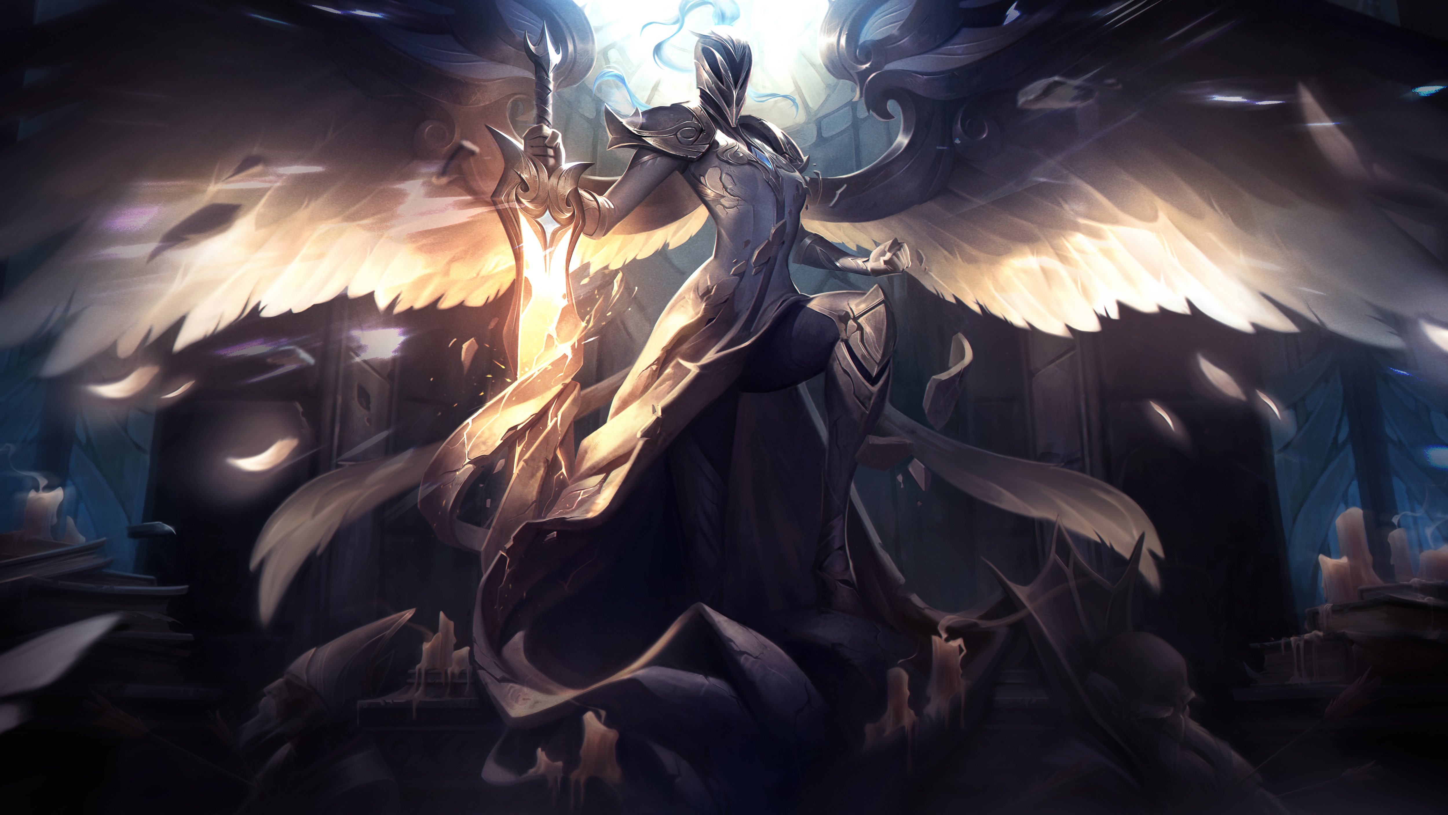 Some Of Kayle S Rarest Skins Are Available To Purchase In Sea Dot Esports