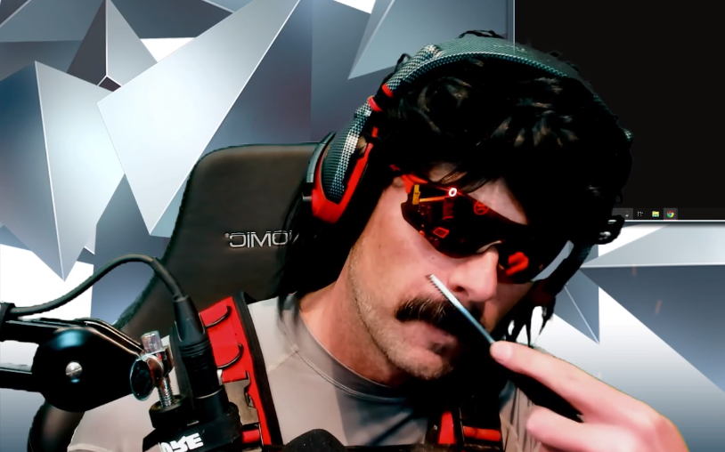 Dr Disrespect has been suspended from Twitch for some reason
