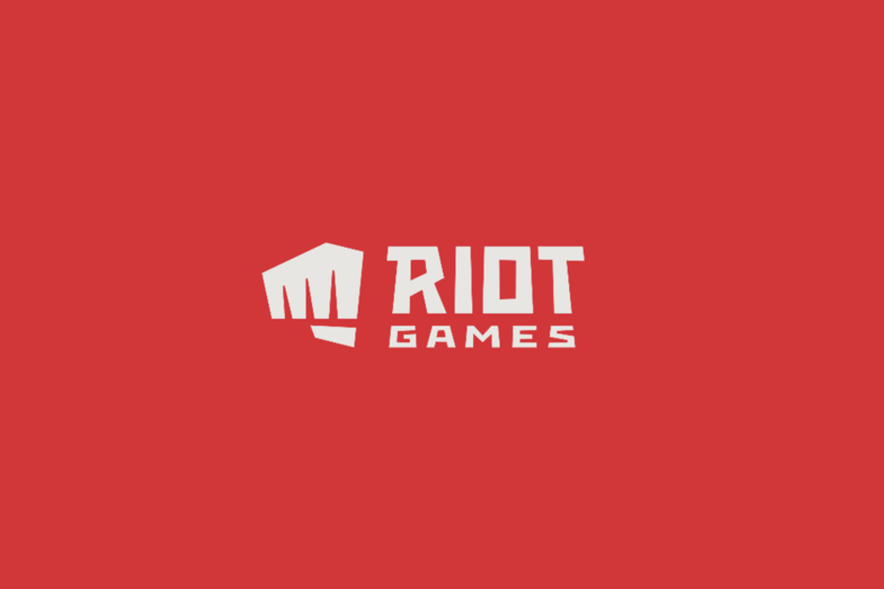 Riot Games new logo