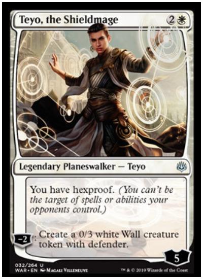 Teyo, the Shieldmage MTG War of the Spark planeswalker