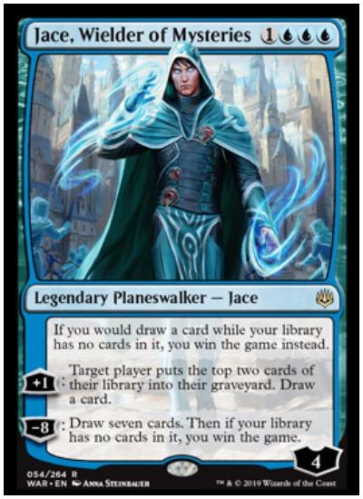 Jace, Wielder of Mysteries MTG War of the Spark Planeswalker