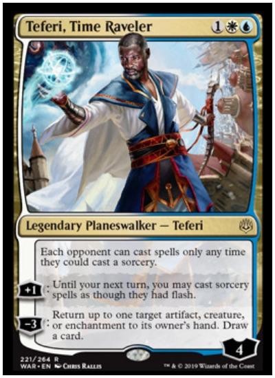 Teferi, Time Raveler MTG War of the Spark Planeswalker