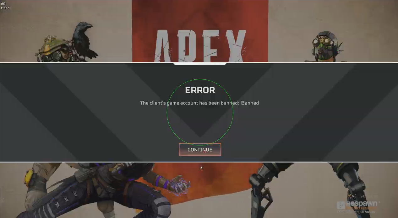 Apex legends cheaters ban