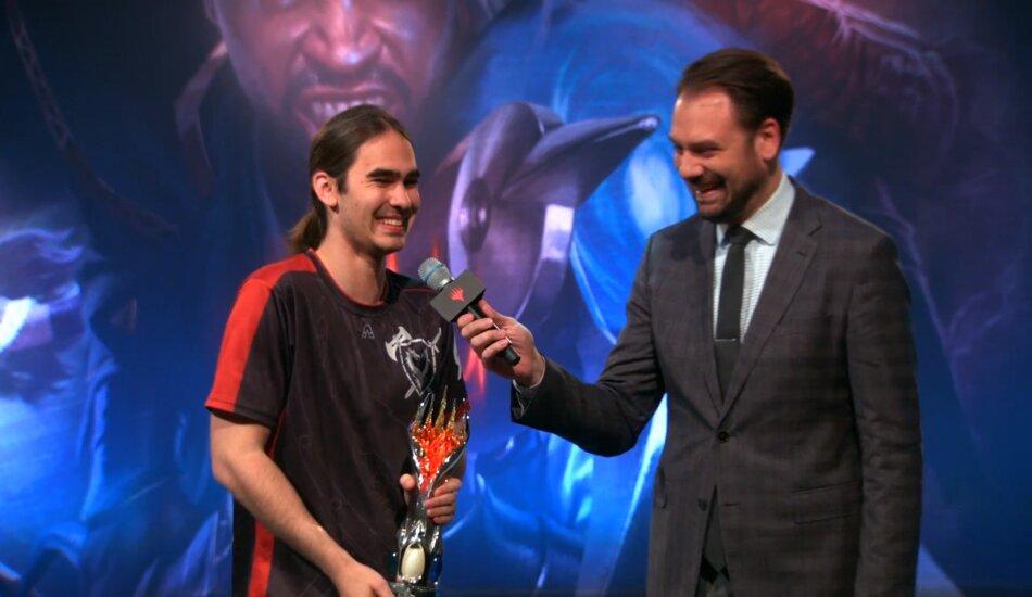 Eli Loveman Mythic Championship II champion in Modern