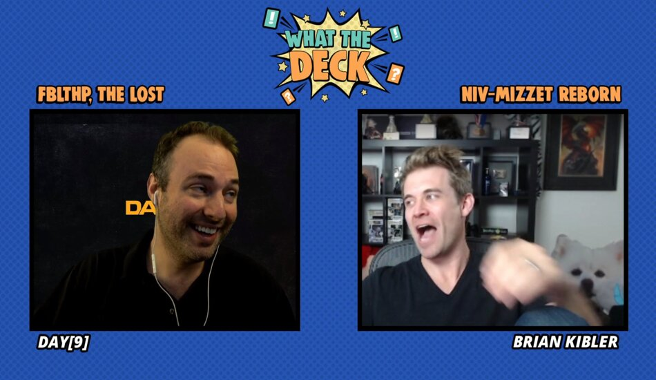 What the Deck Magic: The Gathering Twitch television series hosted by Day9