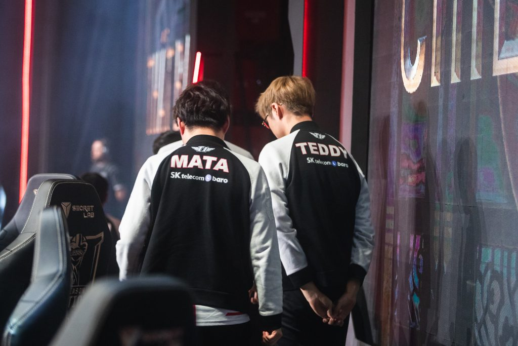 Mata and Teddy at MSI