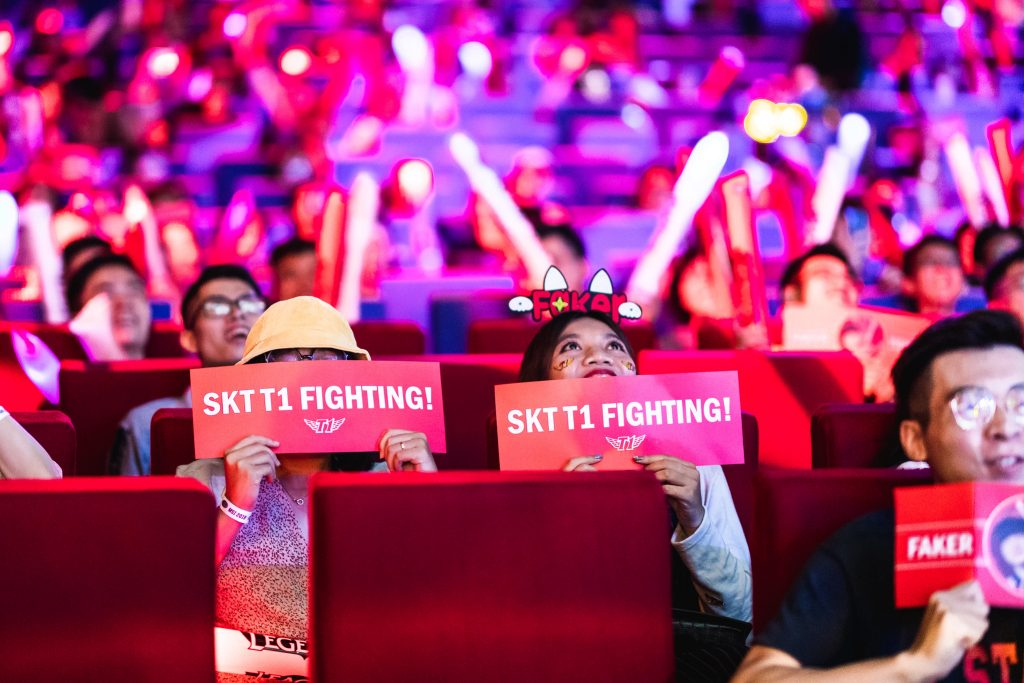 Day 3 SKT Crowd