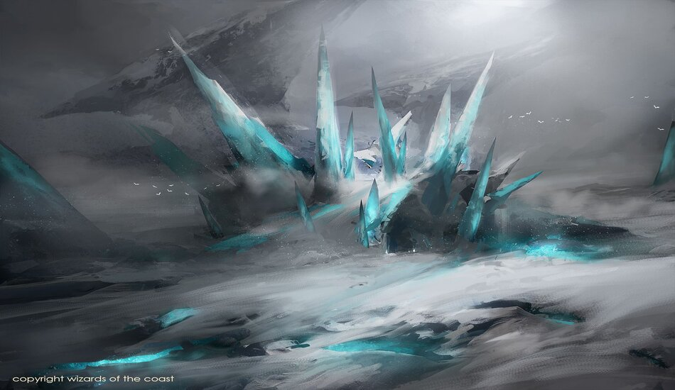 Ice-Fang Coatl x1 NM Morden Horizons MTG