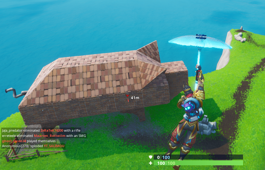 Fortnite: Fortbyte 69 Location: Found Inside A Stone Pig