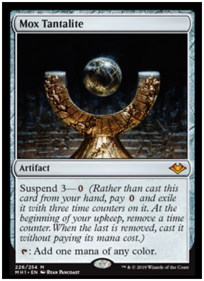 here's every mythic rare card in mtg modern horizons set
