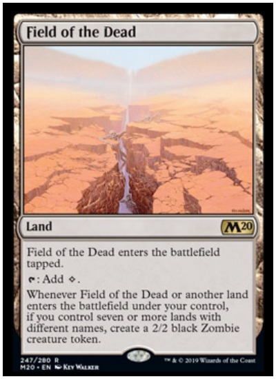 Field of the Dead MTG Core Set 2020