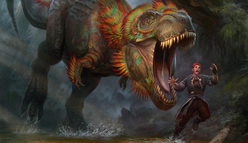 Dinosaur Raptor Magic The Gathering