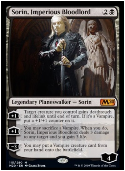 Sorin, Imperious Bloodlord MTG Core Set 2020