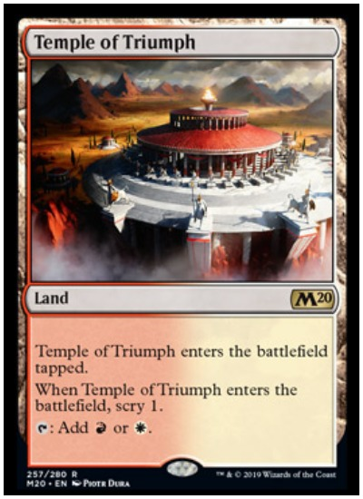 Mtg Dual Temple Lands Add Scry In Core Set 2020 Dot Esports All lands that generate and/or need orzhov colors to work. mtg dual temple lands add scry in core